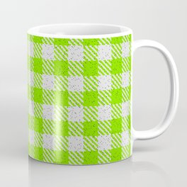Lawn Green Buffalo Plaid Coffee Mug