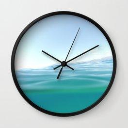 Neraki in the summer Wall Clock