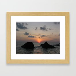 The Sanctuary at Sea Framed Art Print