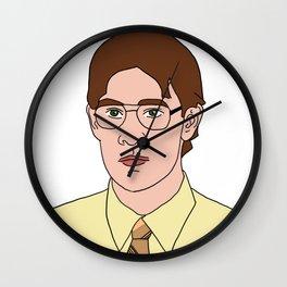 Jim as Dwight Wall Clock