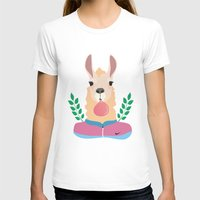 lama T-shirts featuring Sport Lama by Holanes