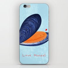 Love Mussel iPhone & iPod Skin