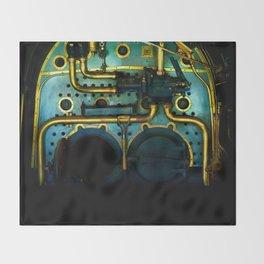 Industrial Victorian Throw Blanket