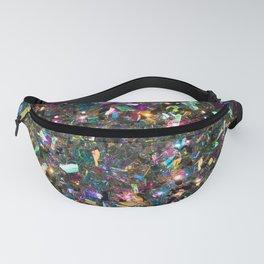 Rainbow Crystals Fanny Pack