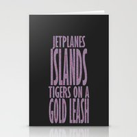 lorde Stationery Cards featuring Lorde Royals Lyrics by Ranofer