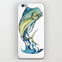 The Glass Mahi Mahi  iPhone Skin