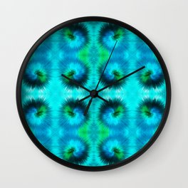 209 - Abstract spikey spheres design Wall Clock
