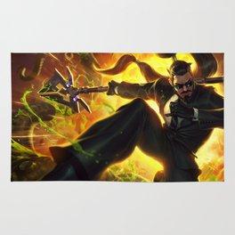 Secret Agent Xin Zhao League Of Legends Rug