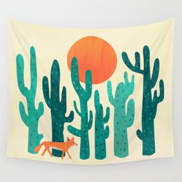 Desert fox Wall Tapestry