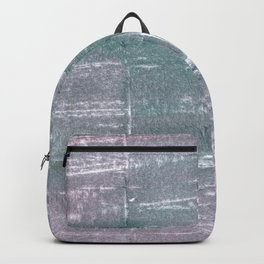 Roman silver abstract watercolor Backpack