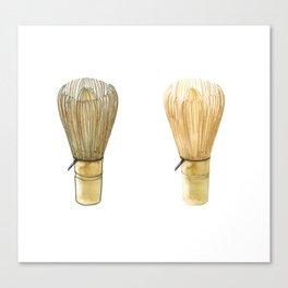 Chasen. Matcha whisk Canvas Print