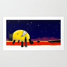 I really was meant to Kill you  Art Print