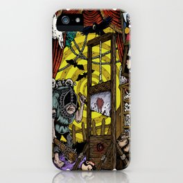 House of Death iPhone Case