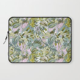 Tropical paradise | Grayish Turquoise Laptop Sleeve