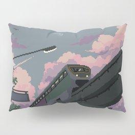 Moonrise Train Pillow Sham