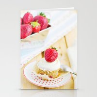 dessert Stationery Cards featuring DESSERT by Ylenia Pizzetti