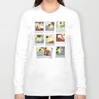 grantaire Long Sleeve T-shirts featuring Mornings_e/R by MAURATG
