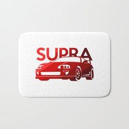 Toyota Supra - classic red - Bath Mat