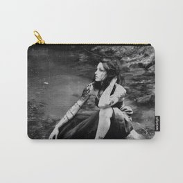 Model in the Creek Carry-All Pouch