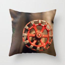 Valve Old Throw Pillow