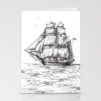 marine Stationery Cards featuring marine by ismailburc