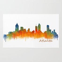Atlanta City Skyline Hq v2 Rug