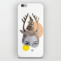 logo iPhone & iPod Skins featuring Logo by Amy Bannister