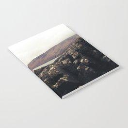 Scottish Highlands Rocky Shore Notebook
