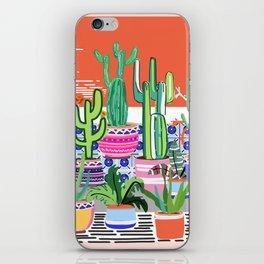 Cactus Window iPhone Skin
