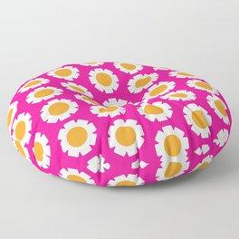 1970s Daisy pattern Floor Pillow