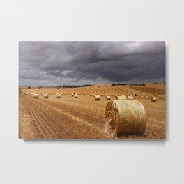 Harvest Before the Storm Metal Print