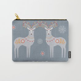 Nordic Winter Carry-All Pouch