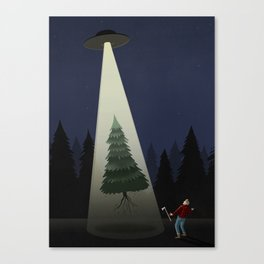 Whoever you are, wherever you are, Merry Christmas!!! Canvas Print