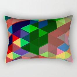Geometric Shift Rectangular Pillow