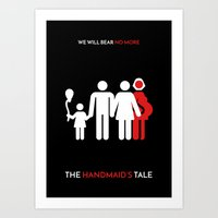 The Handmaid's Tale Minimalist Poster - Gilead Family Art Print