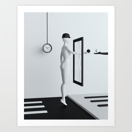 On the other side Art Print