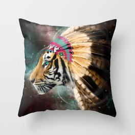 Fight For What You Love (Chief of Dreams: Tiger) Tribe Series Throw Pillow