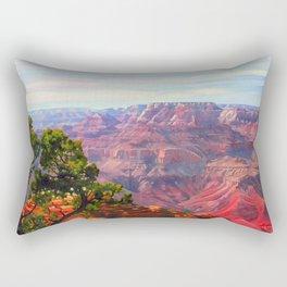 Grandview Grand Canyon by Amanda Martinson Rectangular Pillow