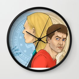 A Universe For A Universe Wall Clock