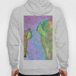 Colored elephants Hoody