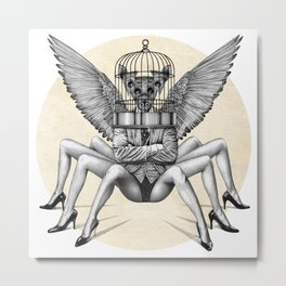 Extreme Enhanced Community Quarantine (EECQ) Metal Print