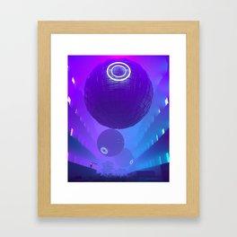 Finally Here Framed Art Print