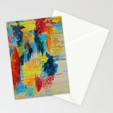 VANCOUVER RAIN - Stunning Rainbow Colorful Bold bright Rain Clouds Stormy Day Wow Abstract Painting Stationery Cards