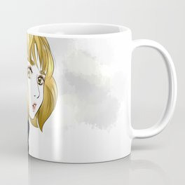 Nana in The Gold Hair Coffee Mug