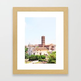 159. Forum Campanile, Rome Framed Art Print