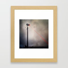 CCTV LASER BLASTER 2 Framed Art Print