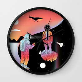 Coexistentiality 2 (A Passing View) Wall Clock