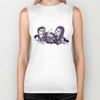 motorcycle Biker Tanks featuring motorcycle by 2choey