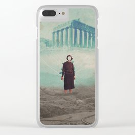Mrs. Loneliness Clear iPhone Case