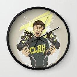 Phop gun Wall Clock
